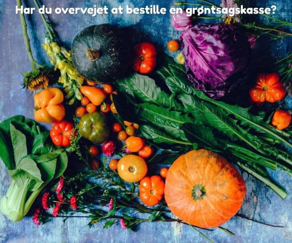 Har du overvejet at bestille en grøntsagskasse?