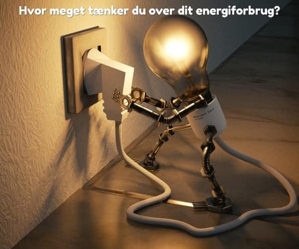 Hvor meget tænker du over dit energiforbrug?