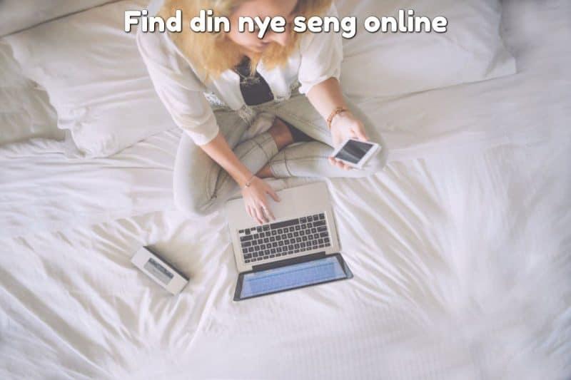 Find din nye seng online